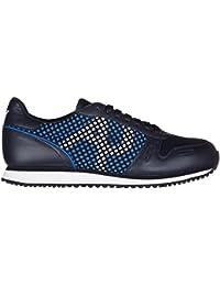 Armani Jeans zapatos zapatillas de deporte hombres nuevo blu