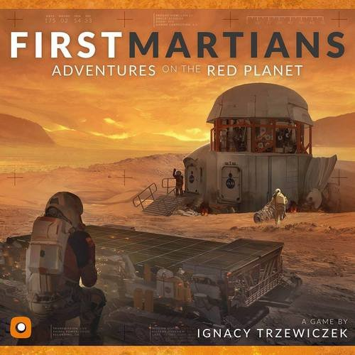 Wydawnictwo Portal POP00088 Brettspiel First Martians: Adventures on The Red Planet -
