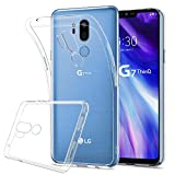 HOOMIL Trasparente Silicone Cover per LG G7 ThinQ, Clear Custodia per LG G7 ThinQ - HD3479