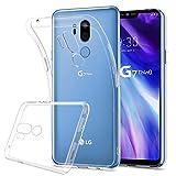 HOOMIL Durchsichtige Handyhülle für LG G7 ThinQ Hülle, Silikon Transparent Schutzhülle für LG G7 ThinQ Smartphone Case Cover, HD3479