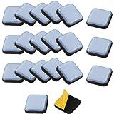TANCUDER 20 PCS Deslizadores de PTFE para Muebles Deslizadores de Teflón Patine para Desplazar Muebles Almohadillas Deslizant