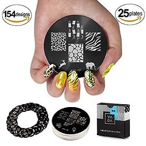 Cheeky Stamping Nail Art Fairy Kit Set d'Acessoires pour Manucure/Pedicure