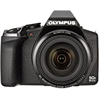 Olympus SP‑100EE Digital Compact Camera (16MP, 50x Super Wide Zoom, Built-in Dot Sight) 3.0 inch LCD