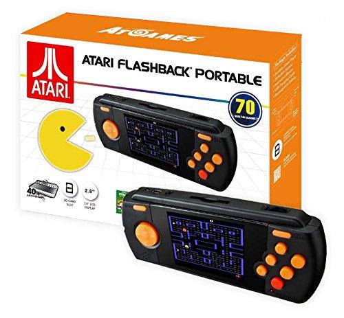 Import - Consola Retro Atari Flashback Portátil (Incluye 70 Juegos)