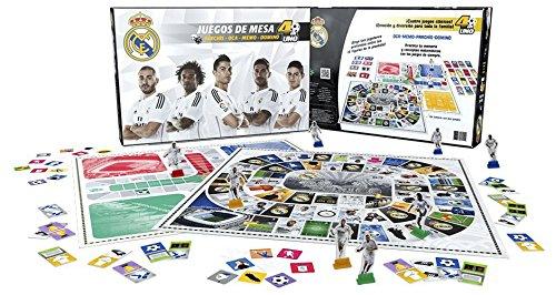 Nanostad - Real Madrid, parchís y oca deluxe (Giochi Preziosi 34117)