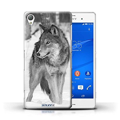 Stuff4® Hülle/Hülle für Sony Xperia Z3 / Wolf Muster/Zoo-Tiere Kollektion - Terrasse Kollektion