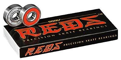 Bones China Reds Bearings x8 608mm