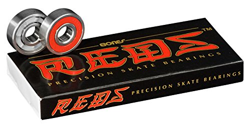 Bones Bearings Kugellager Reds, 18022 (Skateboard Deck Herren)