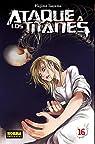Ataque a los titanes 16 par Isayama