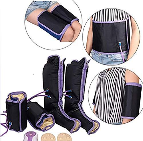 YEMEIGA 9 Modos Almohadillas de Fisioterapia para la Rodilla eléctrica Terapia de presión de la Pierna Caliente Masajeador Alivio de la Fatiga Alivio del Tobillo Alivio del Dolor Lesión