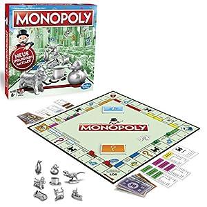 51ag7dfwbmL. SS300  - Monopoly Classic, Gesellschaftsspiel für Erwachsene & Kinder, Familienspiel, der Klassiker der Brettspiele, Gemeinschaftsspiel für 2 - 6 Personen, ab 8 Jahren