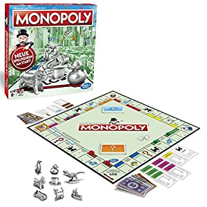 Hasbro Monopoly c1009100-Monopoly Classic, Familia Parte