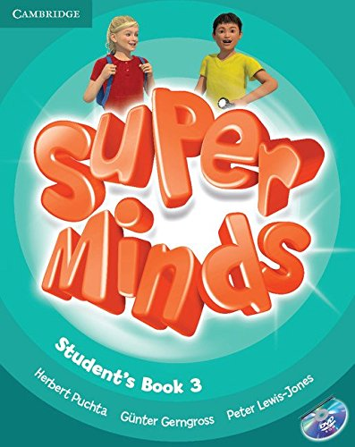 SUPER MINDS 3 SB/DVD ROM