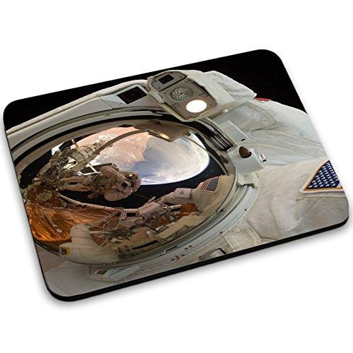 Weltraum 10014, Raumfahrzeug, Mousepad Anti Rutsch Unterseite für Optimalen Halt Kompatibel mit allen Maustypen (Kugel, Optisch, Laser) Ideal für Gamer und für Grafikdesigner.