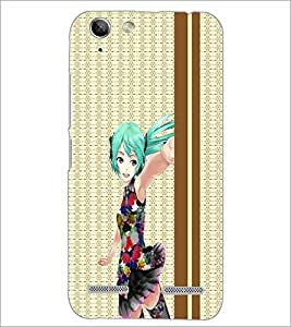 PrintDhaba Cute Doll D-3784 Back Case Cover for LENOVO VIBE K5 PLUS (Multi-Coloured)