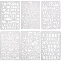 Kofun Molde para Tartas, diseño de Letras del Alfabeto y números, Molde Cortador de