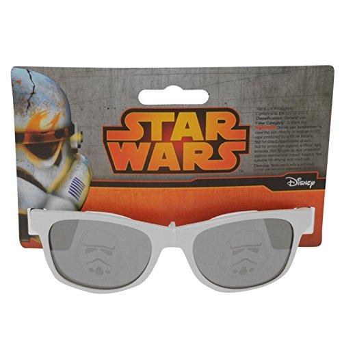 Star Wars Sonnenbrille für Kinder, Weiß, getönt, Einheitsgröße
