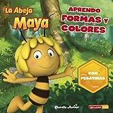 La Abeja Maya. Aprendo formas y colores: Con pegatinas (La Abeja Maya 3D)