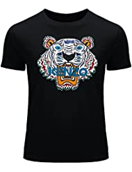 kenzo 2016 For Men's Printed Short Sleeve tops T-shirts