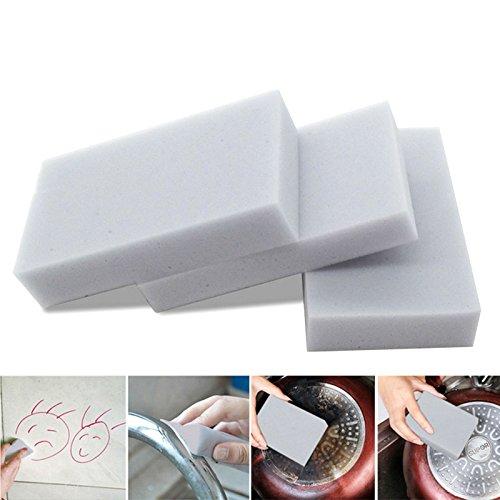 Zokra(TM) 50Pcs Kitcken Cleaner Melamine Sponge Eraser Multi-functional Soak Sponge Removes stain/dirt for Cleaning Kitchen Accessories