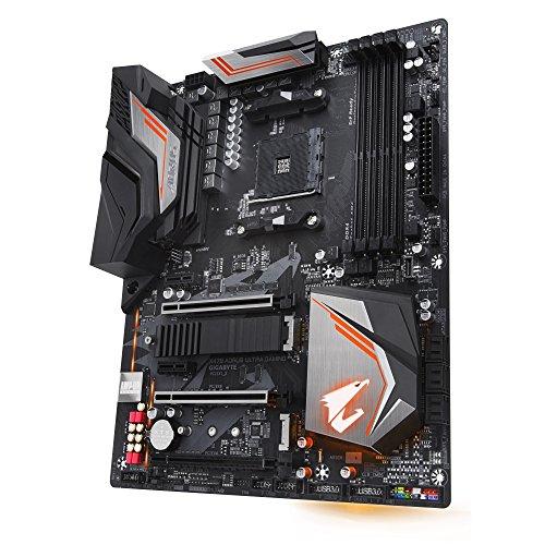 Gigabyte X470 Aorus Ultra Gaming Scheda Madre ATX, Nero