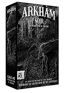 Ludonova - Juego de cartas Arkham Noir 2: Invocado por el trueno, Español (LDNV230001)