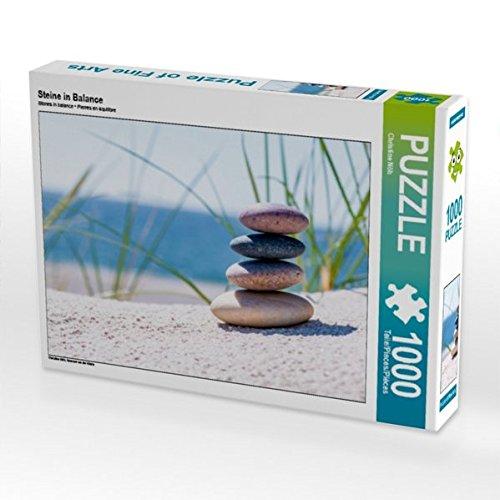 (Steine in Balance 1000 Teile Puzzle Quer)