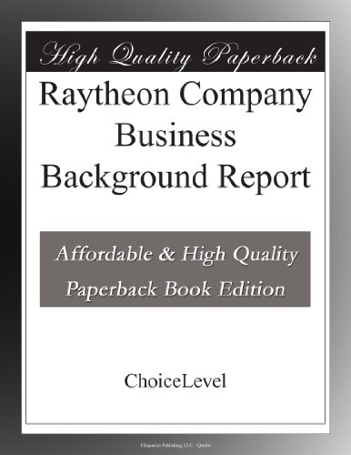 raytheon-company-business-background-report