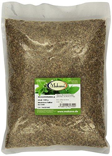 Makana Mariendistelsamen, gemahlen, 1000 g Beutel (1 x 1 kg) -