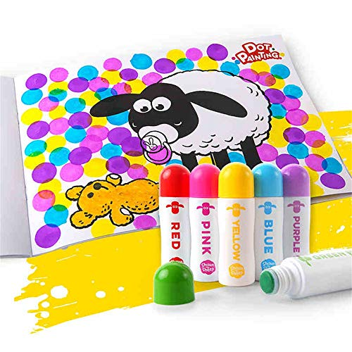 Set da disegno per bambini, graffiti per bambini di 3-6 anni, regalo di festa per ragazzi e ragazze, pittura cancelleria per schizzi, strumenti per pittura, acquarello, matita per ricarica di olio