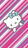 CTI 042334asciugamano da bagno Hello Kitty Paris, in velours di cotone, 75x 150cm