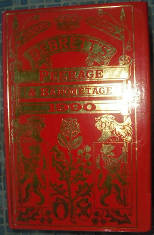 Debrett's Peerage and Baronetage 1990