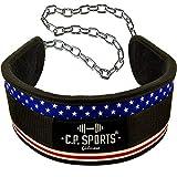 C.P.Sports Dip-Gürtel Standard G5-1, Gürtel für Zusätzliches Gewicht bei Klimmzügen & Dips...