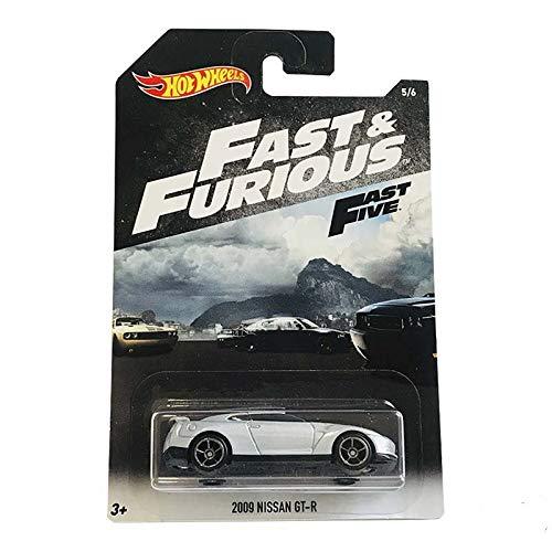 Mattel Cars Fast & Furious 2009 Nissan GT-R 2018 Gray