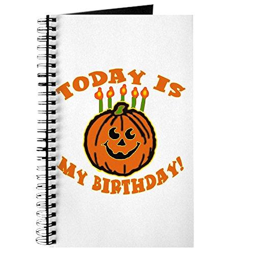 CafePress - My Halloween Birthday - Spiralgebundenes Tagebuch, persönliches Tagebuch, Punkt-Raster (Liste Aller Halloween-kostüm)