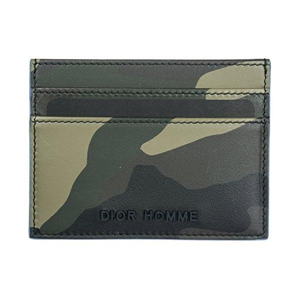 28e76366c5 Prada porta carte di credito portafoglio uomo pelle verde – 1PrimaClasse