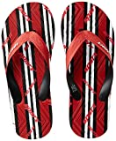 Sparx Men's Red and Black Flip Flops Thong Sandals - 9 UK/India (43.33 EU)(SF2050GRDBK)