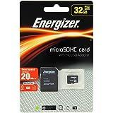 Energizer Classic Carte mémoire microSD Class 10 32 Go avec Adaptateur