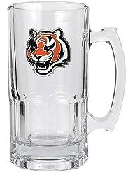 Great American Products Cincinnati Bengals NFL 1 Litre tasse de Macho - Primary Logo