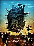 Poster 60 x 80 cm: Howl's Moving Castle 2 di Albert Cagnef - stampa artistica professionale, nuovo poster artistico