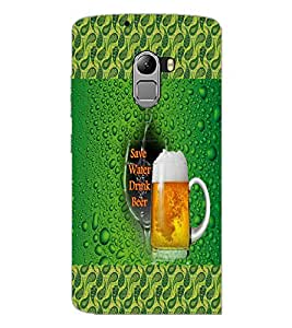 PrintDhaba Quote D-6012 Back Case Cover for LENOVO K4 NOTE A7010a48 (Multi-Coloured)