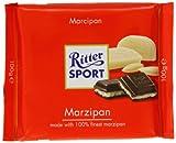 RITTER SPORT Tablette Chocolat 100 g MARZIPAN