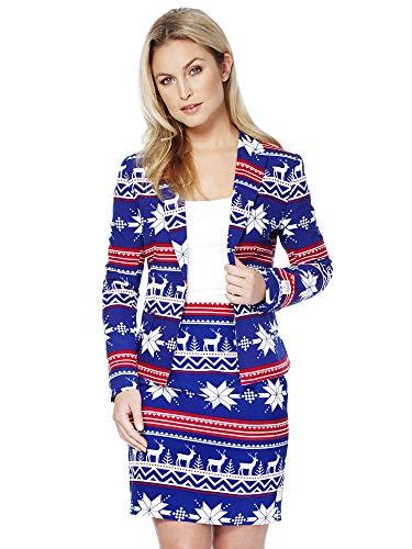 ¿Estás buscando un atuendo para acabar el año a lo grande? Este festivo traje navideño es la prenda perfecta para llevar estas Navidades y Fin de año. ¡Es una versión más elegante del típico jersey feo de Navidad, así que seguro que serás el mejor ve...