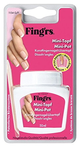 Fing'rs - 1154 - Accessori unghie finte - Mini Pot Remover Rimuovere unghie finte o vernici