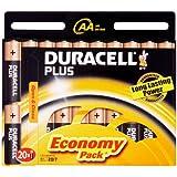 Duracell Plus MN1500 Alkaline AA Batteries - 20-Pack