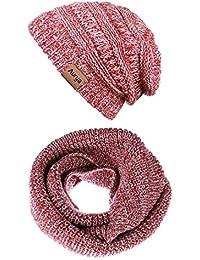 Amazon.fr   Multicolore - Packs bonnet, écharpe et gants ... a76f457f78b