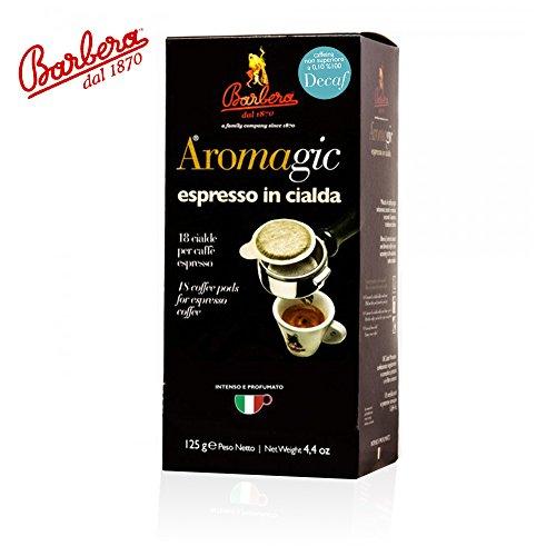 Ese Kaffeepads Entkoffeiniert Premium Italienischer Espresso | 50% Arabica 50% Robusta (18)
