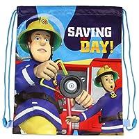Jujak Fireman Sam Trainer/Gym/PE Swim School Bag (Design 1)