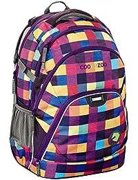 HAMA Evverclevver Coocazoo sac d'école sac à dos (Melange A Trois Pink)