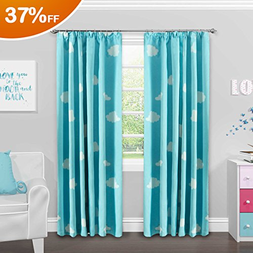 panel blue deals shop sale embroidered curtains alert inas home s lavish decor sky curtain light